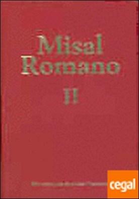 Misal romano completo. II: Pascua-Adviento