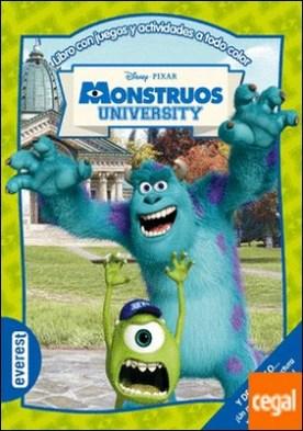 Monstruos University . Libro con juegos y actividades a todo color