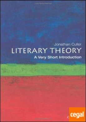 LITERARY THEORY A VERY SHORT INTRODUCTION.