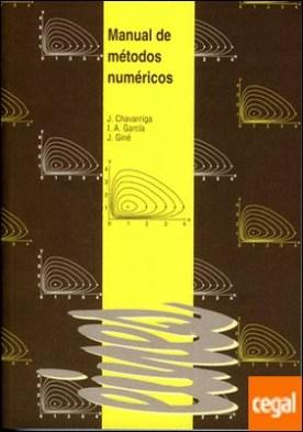 Manual de métodos númericos.