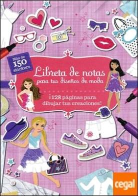 Libreta de notas para tus diseños de moda
