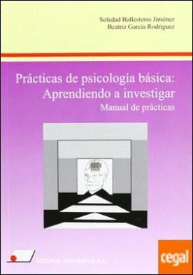 Prácticas de psicología básica . aprendiendo a investigar