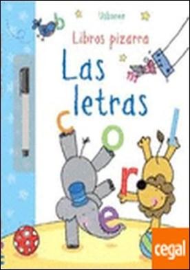 LETRAS, LAS . LIBROS DE PIZARRA