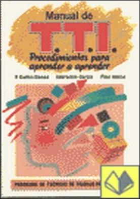 Programa de técnicas de trabajo intelectual TTI manual