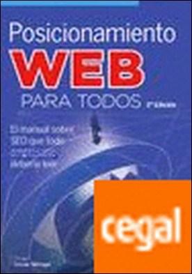 Posicionamiento web para todos por Tovar Monge, Rodrigo PDF