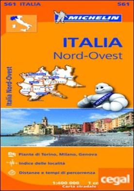 Mapa Regional Italia Nord Ovest