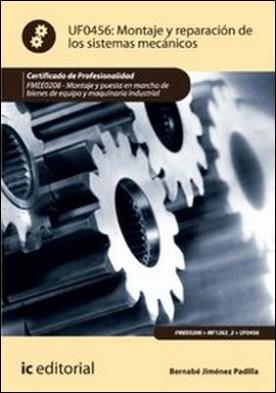 Montaje y reparación de los sistemas mecánicos