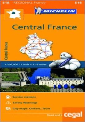 Mapa Regional Central France