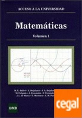 Matemáticas: acceso a la universidad