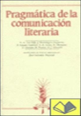 Pragmática de la comunicación literaria