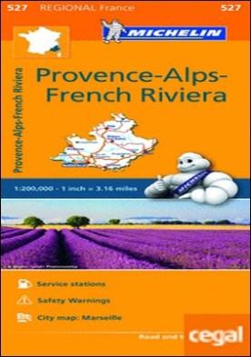 Mapa Regional Provence-Alps-French Riviera