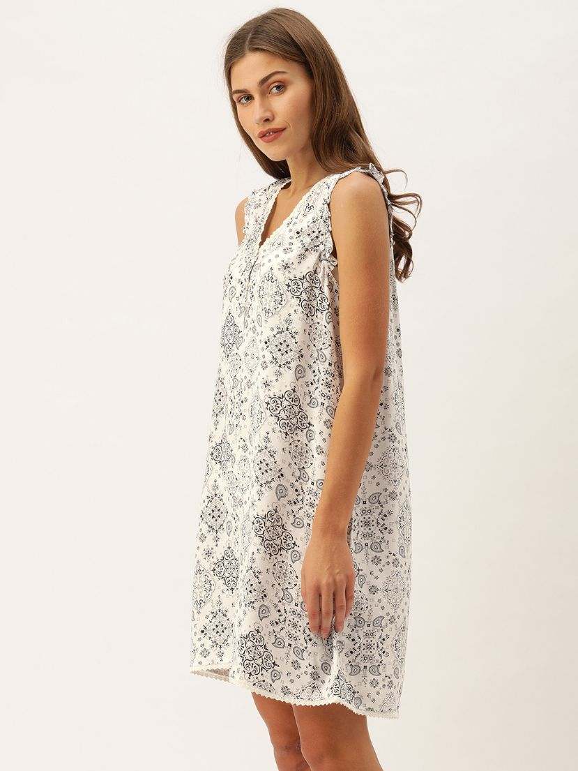 Slumber Jill Caira Grey Night Dress with Straps