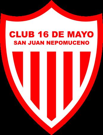 Escudo Club 16 de Mayo