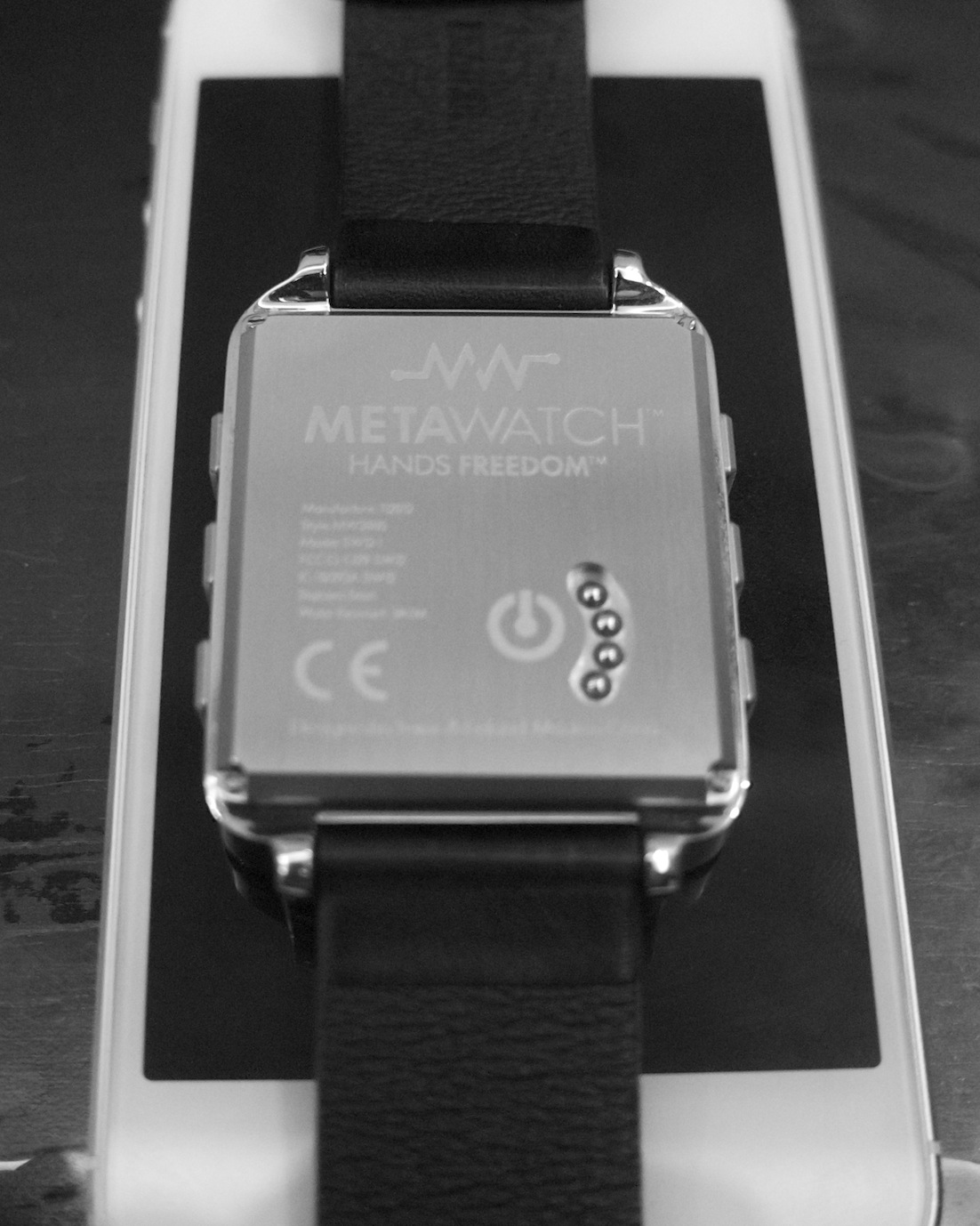 MetaWatch Back
