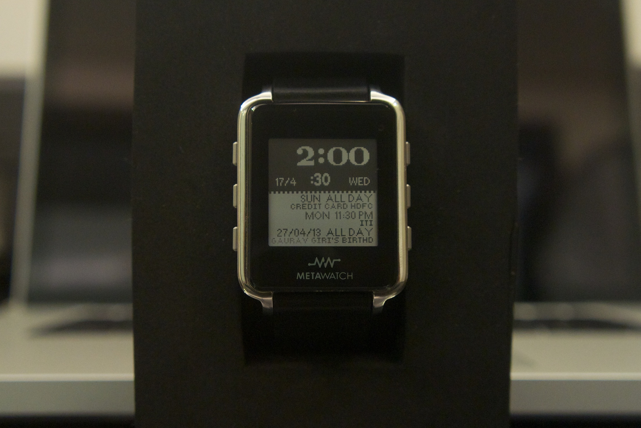MetaWatch Watchface 2