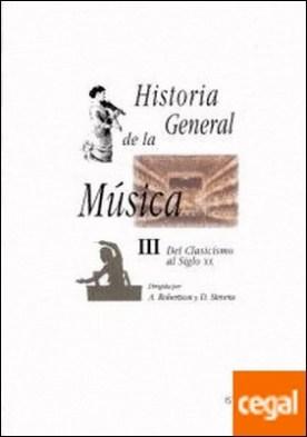 Historia General de la Música III