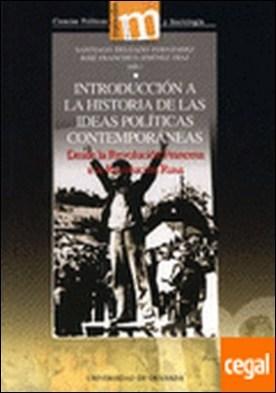 Introducción a la Historia de las ideas políticas contemporáneas