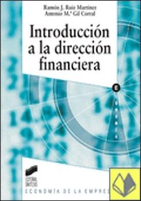 Introducción a la dirección financiera por Ruiz Martínez, Ramón Jesús PDF