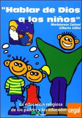 HABLAR DE DIOS A LOS NIÑOS
