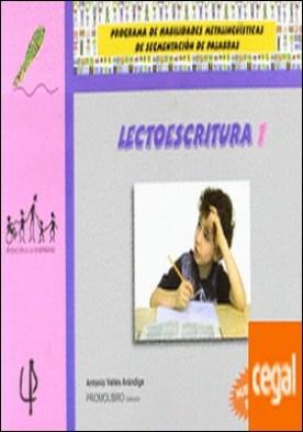Lectoescritura 1 . Programa habilidades metalingüísticas de segmentación palabras