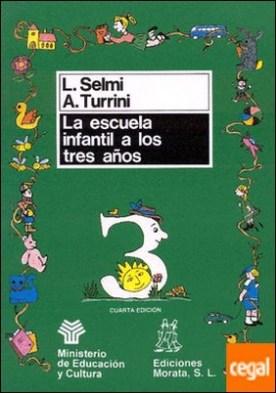La escuela infantil a los 3 años