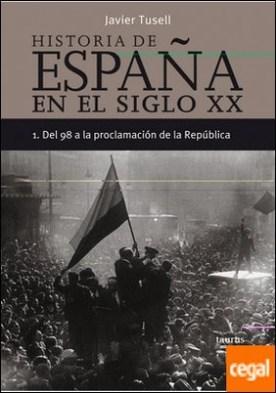 Historia de España en el siglo XX - 1 . Del 98 a la proclamación de la República