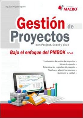 Gestión de proyectos con Project, Excel y Visio (Bajo enfoque PMBOK 5ta. Ed. )