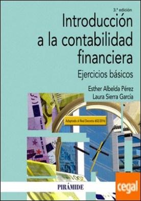 Introducción a la contabilidad financiera . Ejercicios básicos