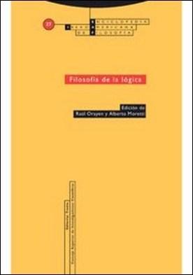 Filosofía de la lógica por Raúl Orayen PDF