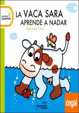 La vaca Sara aprende a nadar