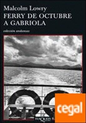 Ferry de octubre a Gabriola