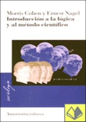 Introducción a la lógica y al método científic, Vol. I por Cohen, Morris R. PDF