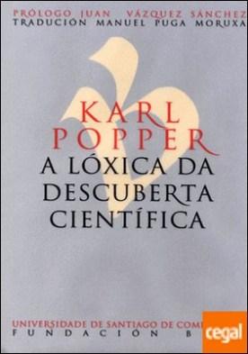 Karl Popper. A lóxica da descuberta científica por Popper, Karl PDF