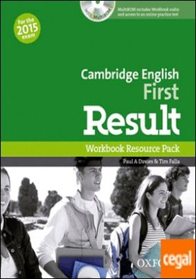 First Result Workbook without Key Exam CD-R Pack 2015 Edition