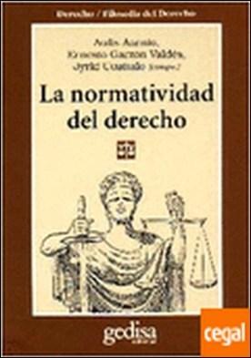 La normatividad del derecho