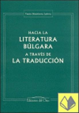 Hacia la literatura búlgara a través de la traducción