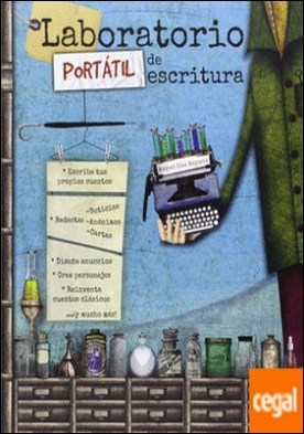 Laboratorio portátil de escritura . Escribe tus propios cuentos. Redacta noticias, anónimos, cartas. Diseña anuncios