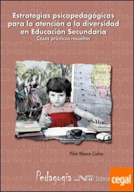 Estrategias psicopedagógicas para la atención a la diversidad en Educación