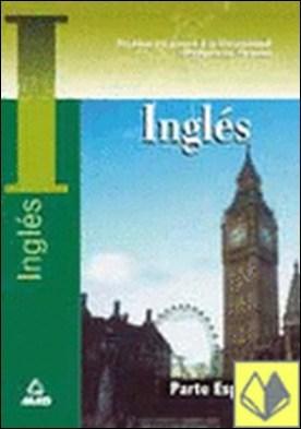 Inglés. Prueba específica. Prueba de acceso a la universidad para mayores de 25 . Pruebas de acceso a la Universidad Mayores de 25