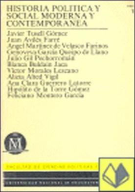 Historia política y social moderna y contemporánea