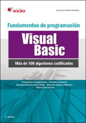 Fundamentos de programación Visual Basic (100 algoritmos codificados)