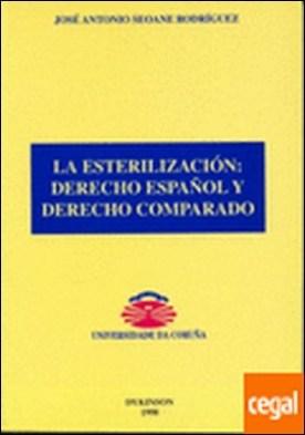 La esterilización: derecho español y derecho comparado