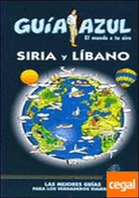 Guía Azul Siria y Líbano