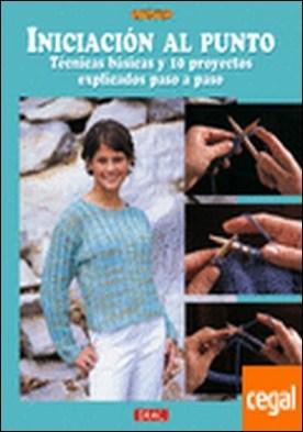 INICIACION AL PUNTO. TECNICAS BASICAS Y 10 PROYECTOS EXPLICADOS PASO A PASO por Tosten, Anita PDF