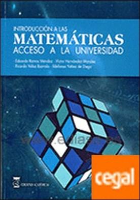 Introducción a las matemáticas (5ª ed) . Acceso a la universidad