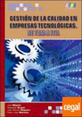 Gestión de la Calidad en empresas Tecnológicas.TQM-ITIL . De TQM a IYIL