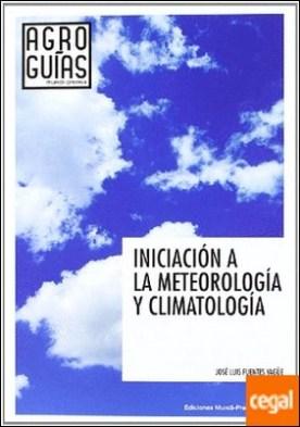 Iniciación a la meteorología y climatología