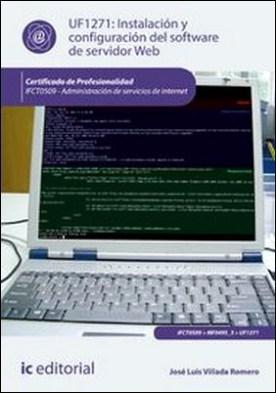 Instalación y configuración del software de servidor Web