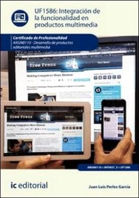 Integración de la funcionalidad en productos multimedia