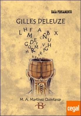 Gilles Deleuze por Martínez Quintanar, Miguel Ángel PDF